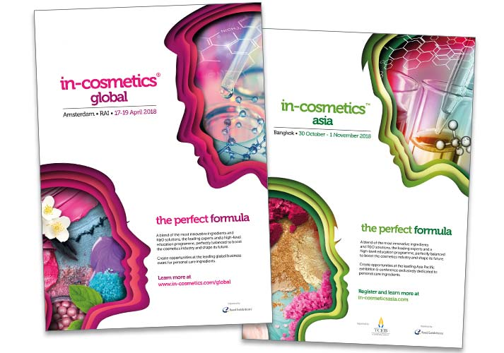 Image Creative Design In-cosmetcis adverts