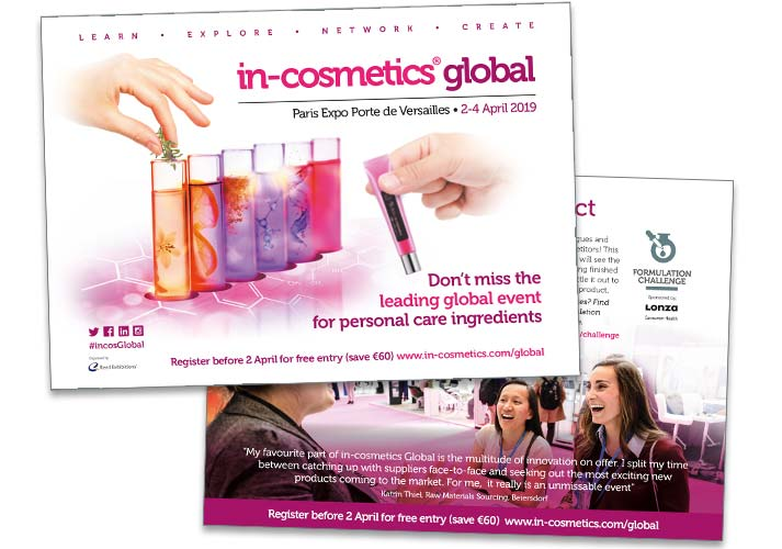 in-cosmetics test tube brochure