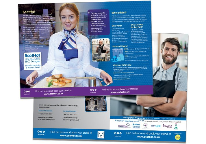 ScotHot Direct Mail Design ICD